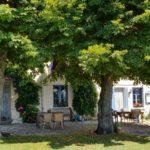 Op reis in frankrijk chambres d'hôtes zoeken - le vieux boulanger tuin