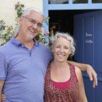 chambres d'hôtes ciel bleu eigenaren Fred en Annemarie