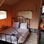 slaapkamer in de tent